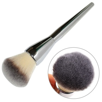 2017 New Big Size Face Flat Foundation Brush High Quality Powder Cosmetic Makeup Brush Dome Blush Women Beauty Makeup Tool - intl - 2
