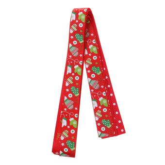 26pcs/Set Christmas Grosgrain Ribbon for Gift Wrapping/Hair Bow DIY - intl - 3