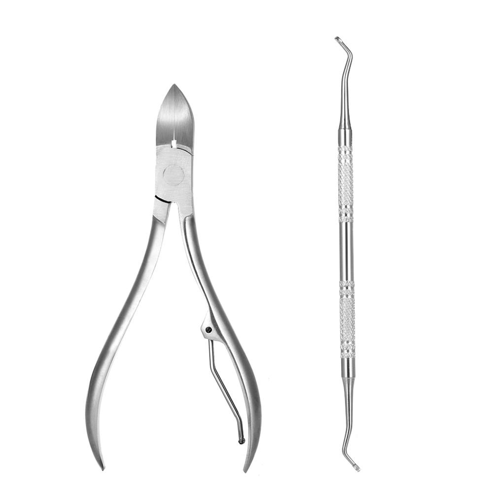 Philippines | 2pcs Stainless Steel Nail Cuticle Scissor + Ingrowing ...