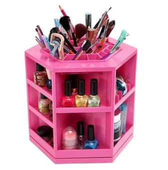 360 Rotating Cosmetics Box