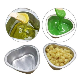 3Pcs heart Melting Wax Bowl Film Hard Wax Pellet Waxing HairRemoval Bean Bowl - intl Price Philippines