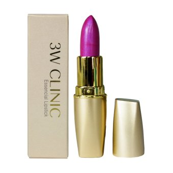 3W Clinic Essencial Diamond Pink Shimmering Lipstick 3.5g No. 8