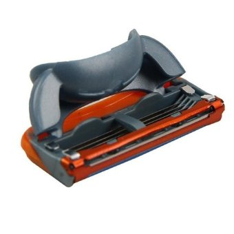 4pcs/lot 5 Layer Blades Shaving Razor Blades for Men Gilett Fusion Power Shaver Blades gilletts Proglide Shaving Blades - intl - 5