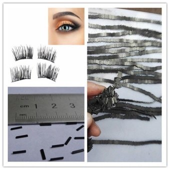 4PcsReusable-Magnet-Sheet-For-3D-Magnetic-False-Eyelashes-Extension-Handmade- intl - 5