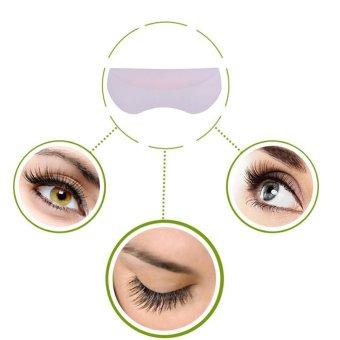 5Pairs/Set Silicone Perming Lifting 3D Eyelash Curler Shield Pad Makeup Tool - intl - 3