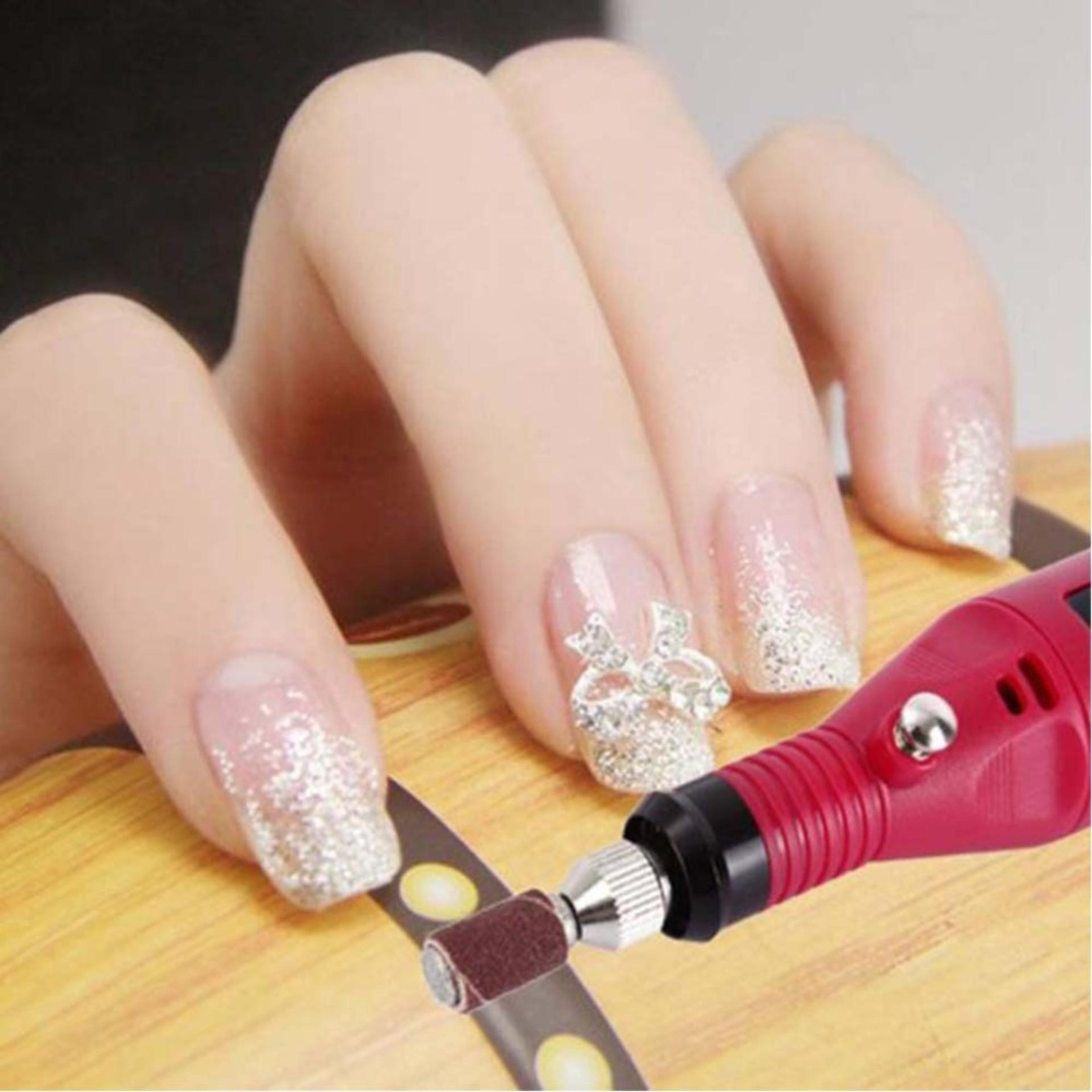 Philippines | 6 Nail Head Pen Shape Electric Manicure Machine Nail ...