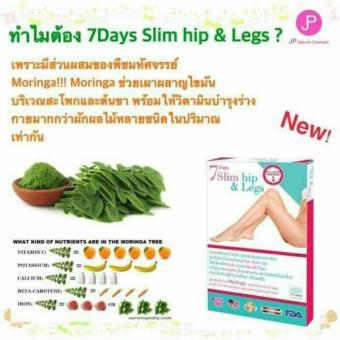 7 Days Slim Hip & Legs Weight loss supplements (30 Capsule)Pack of 2 - 2