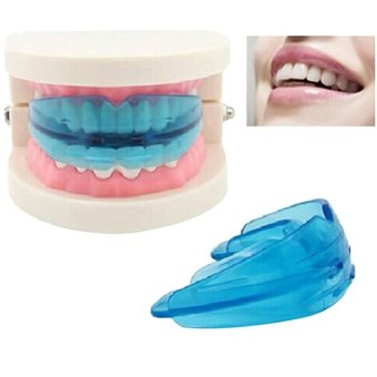 A retainer + Box Orthodontic Straight Teeth for Teens & Adult (Blue) - 2