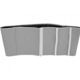 Adjustable Slimming Exercise Belt Binder (Gray)