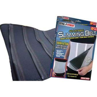 Adjustable Slimming Exercise Belt Binder (Gray) - picture 2