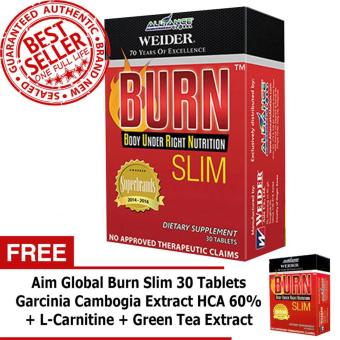 Aim Global Burn Slim 30 Tablets (Buy 1 take 1) Price Philippines