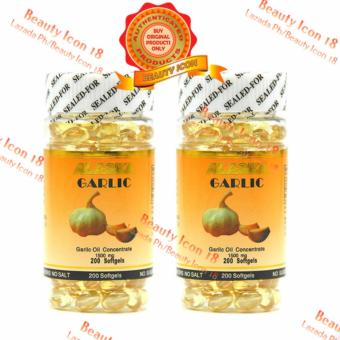 Alaska Garlic Oil Concentrate 1500mg 200s Set of 2s Price Philippines