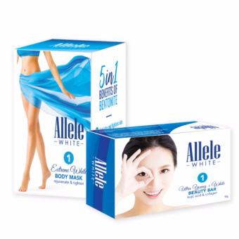Allele White Body Mask + Ultra Young White Beauty Bar