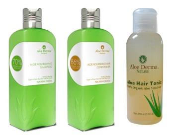Aloe Derma Hair Care Bundle