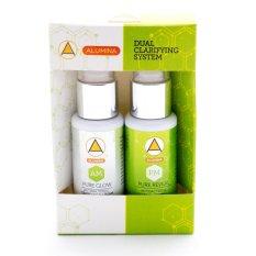 Alumina Dual Clarifying System (AM & PM) Face Cream (White/Green) Philippines