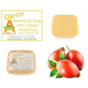 Arella Organic Clarion Rosehip Oil Facial & Body Soap (Solo) - 2