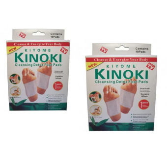 As Seen on TV Boxes Kinoki Detox Foot Pads Set of 2