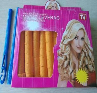 As Seen on TV Magic Leverag Hair Curl-16PCS