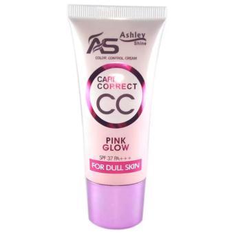 Ashley Shine CC Cream Pink Glow NATURAL Shade #3 SPF37 Matte FinishBB CC Cream Liquid Foundation Single - 3