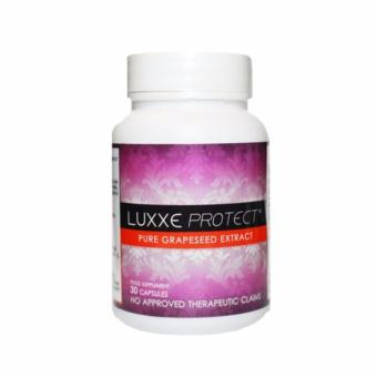 AUTHENTIC LUXXE PROTECT Pure Grapeseed Extract (500mg) bottle of 30
