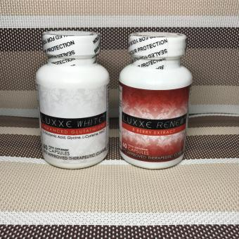 Authentic LUXXE White(R) Glutathione 60s + LUXXE Renew(R) 8 Berry Extract 60s