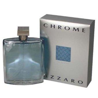 Azzaro Chrome by Azzaro Eau De Cologne for Men 6.76 oz