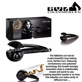Babyliss Perfect Hair Curler Professional Hair Curler (Black)