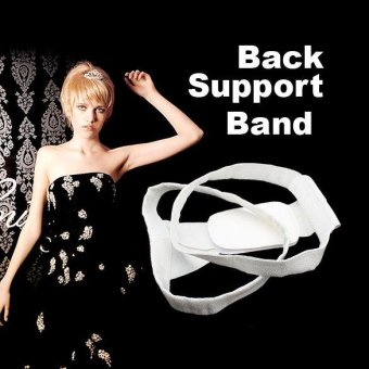 Back Shoulder Posture Support Brace Corrector Belt Strap for Women- intl Price Philippines