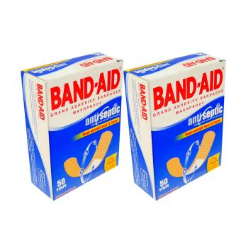 Band-Aid Anti septic 50 strips 2's 194002
