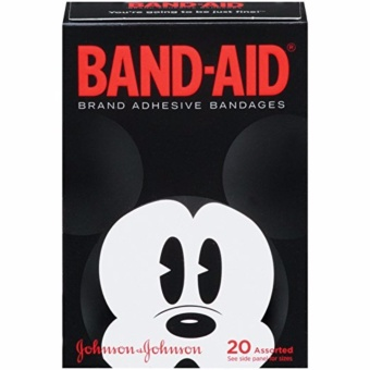 Band-Aid Brand Adhesive Bandages Featuring Disney Mickey Mouse,Collector's Series, Assorted Sizes, 20 Count