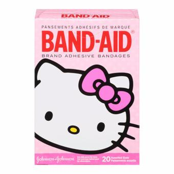 Band-Aid Brand Adhesive Bandages Featuring Hello Kitty, AssortedSizes, 20 Count