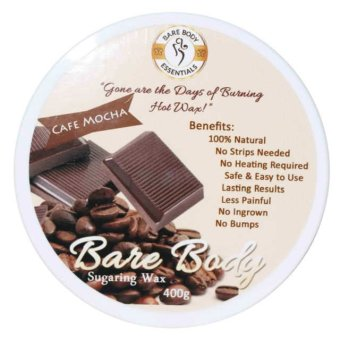 Bare Body Sugar Wax Cafe Mocha (400g) Price Philippines