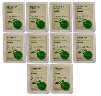 Baroness Green Tea Mask 21g (Set of 10)