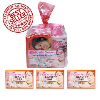 Beauche Beauty Pack + 3 Beauty Bar 90 gms Price Philippines