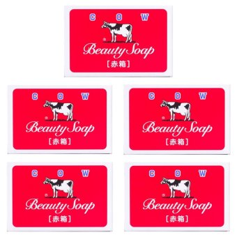 Beauty in Japan Beauty Cow Soap 100g Set of 5 Price Philippines