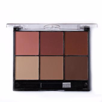 Beauty Ministar 6 Color Face Sculptor (No. 101) Philippines