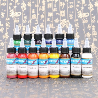 Besta Tattoo Inks 7 Colors 30ml/bottle Tatto Pigment Inks Set for Body Tattoo Art Kit - intl