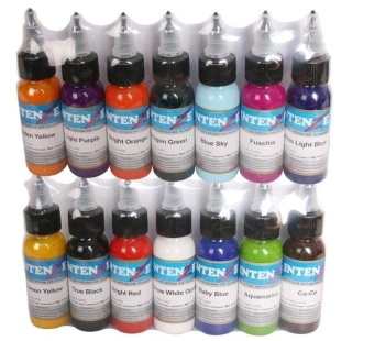 Besta Tattoo Inks 7 Colors 30ml/bottle Tatto Pigment Inks Set for Body Tattoo Art Kit - intl - 3