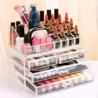 Better One Acrylic Cosmetic Organizer 4 Drawers Drawer MakeupStorage-Intl - 3