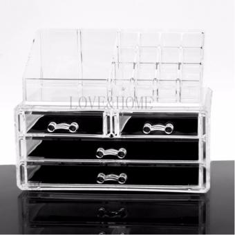 Better One Acrylic Cosmetic Organizer 4 Drawers Drawer MakeupStorage-Intl - 2