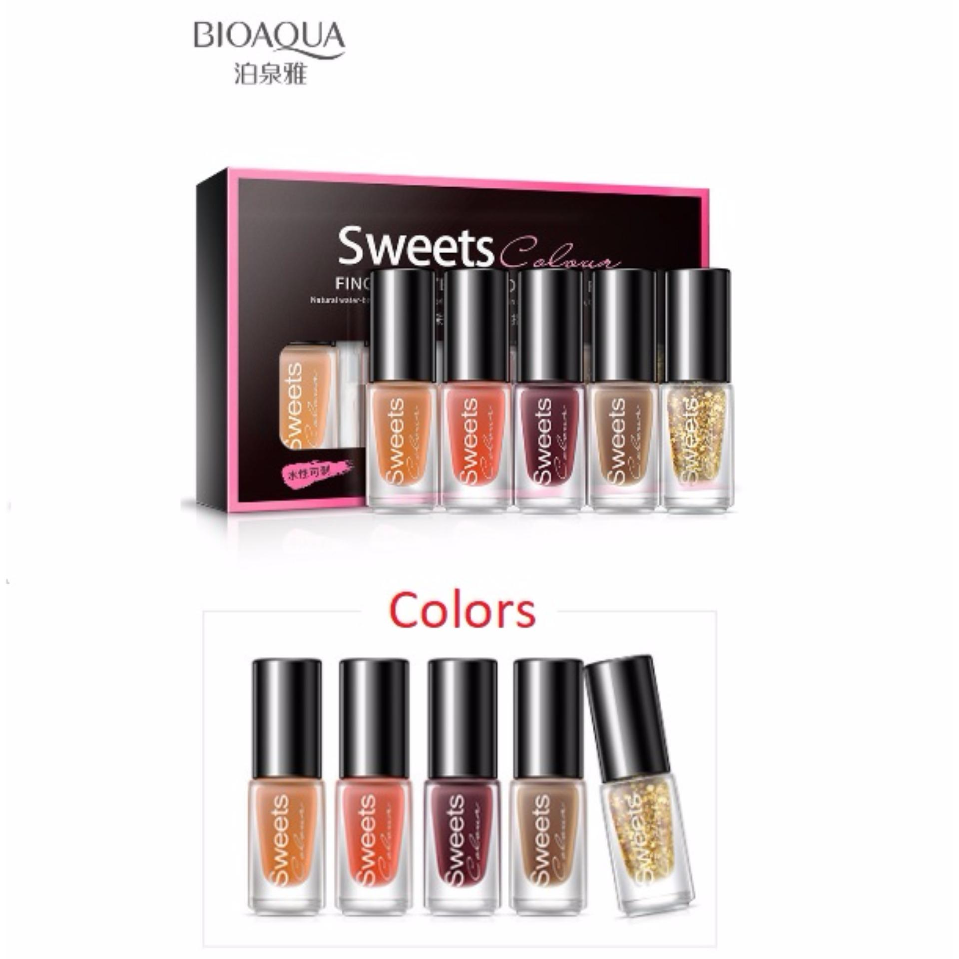 Bioaqua BQY7824-1 Color Water Can Be Stripped Nail Polish (Suit01 ...