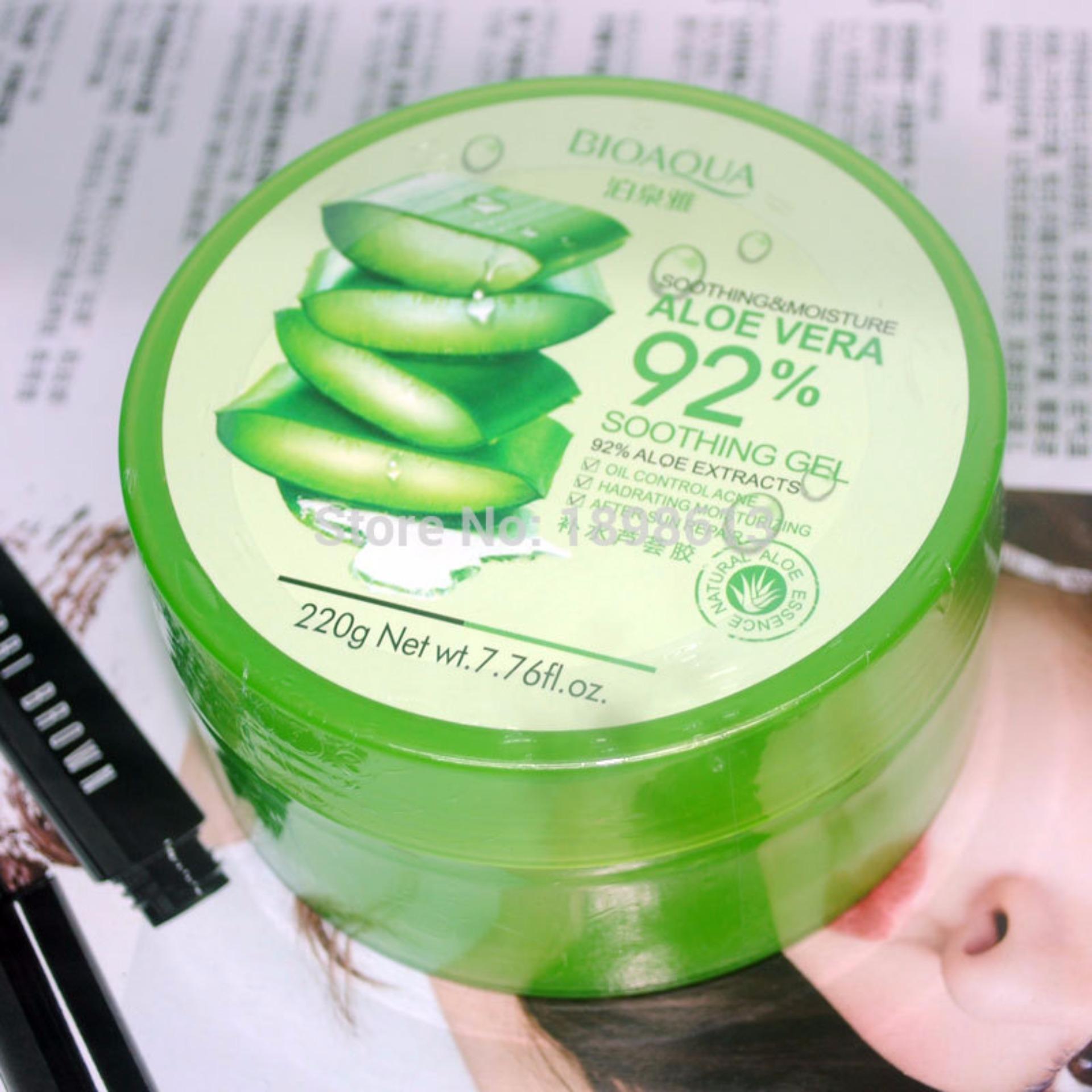 Philippines Bioaqua Soothing Moisturizing Aloe Vera 92 Gel Original