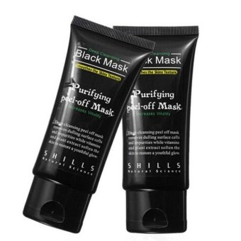 Black Mud Deep Cleansing Purifying Peel Off Facail Face Mask Remove Blackhead Facial Mask - intl