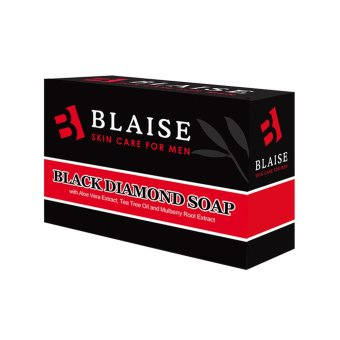 Blaise Black Diamond Soap 135g