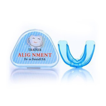Blue Teeth Orthodontic Trainer Alignment Dental Appliance Braces For Adult - 3