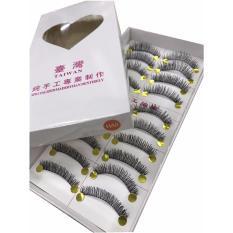 BM Taiwan Natural Black Long False Eyelashes #H48 (10 Pairs) Philippines