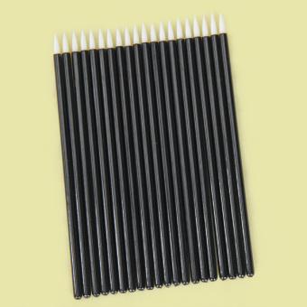 BolehDeals Disposable Strong Tip Eyeliner Brush 20 Pcs Black
