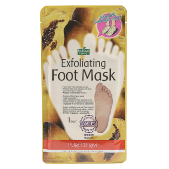 Botanical Choice Exfoliating Foot Mask One Pair