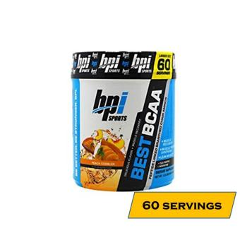 BPI Sports BEST BCAA Increased Performance and Recovery Intra-Workout Drink - 60 servings - Peach Cobbler