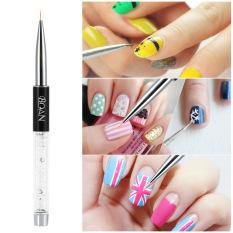 Bqan philippines bqan nail art stickers for sale prices bqan nail art painting brush 11mm crystal acrylic nail art uv gel painting line brush nylon hair pen intl prinsesfo Images